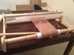 "My mom rocks!  Ashford 32"" Rigid Heddle Loom"