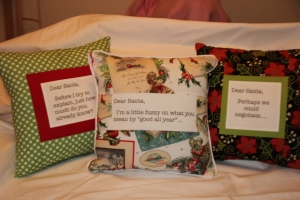 And more throw pillows!